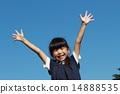 在藍藍的天空中微笑 14888535