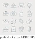 pet line icon 14908785