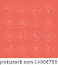 图标 宠物 线条 14908790