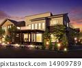 晚景 房屋 房子 14909789