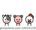 奶牛 雞 雞肉 14910129