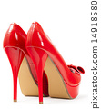 fashionable platform red pumps 14918580