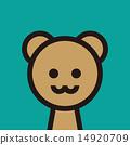 얼굴, 동물, 곰 14920709