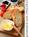 프랑스 빵과 버터 & 잼 14922912