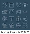 set restaurant icon 14935603