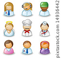 Avatars as different professions 14936442