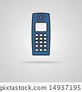 電子 手機 向量 14937195