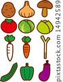 椎茸 番茄 西紅柿 14942589
