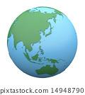 地球 地球仪 球体 14948790