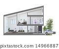 주택 단면 14966887