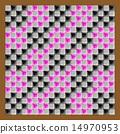 馬賽克 矢量 立方體 14970953