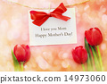 mothers day, tulipa, greeting card 14973060