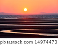 matama coast, sunset, sunsets 14974473