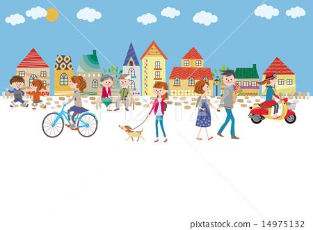 城市風光 城市景觀 市容 14975132
