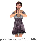 盛裝打扮 禮服 裙子 14977687