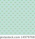 """季节性""""绿花树"""" - 春花""""Renge草"""" - 方形A(浅绿色背景 - 小尺寸) 14979768"""