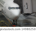 座间通道 登机门 飞机舱门 14980250