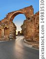 turkey, sunset, ruins 14983530