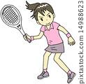 网球女性 14988623