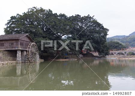 hakka tulou located in fujian, china 14992807