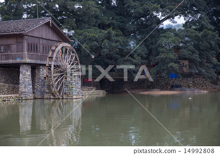 hakka tulou located in fujian, china 14992808