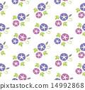 SeamlessPatternOfMorningGlory 14992868