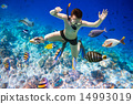 snorkeling, snorkel, man 14993019