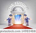 Red carpet door to your future 14993468