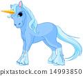 Standing unicorn 14993850