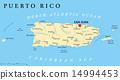 Puerto Rico Political Map 14994453