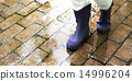 woman, rubber, boots 14996204