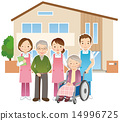Elderly people and nurse nursing home 14996725