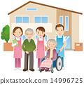 노인과 간호사 요양원 14996725