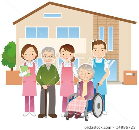 老人和護士療養院 14996725