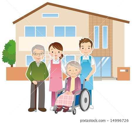 老人和護士療養院 14996726
