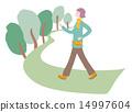 一個女人走路 14997604