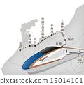 北陸 北陸地區 地圖 15014101