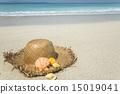 shell straw hat 15019041