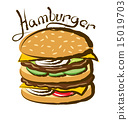 Vector Big Hamburger 15019703