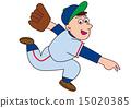 棒球投手 15020385