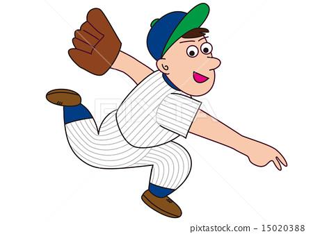 Baseball Pitcher 15020388