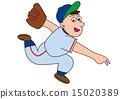 棒球投手 15020389
