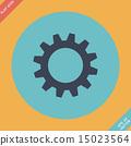 Vector Cog Icon 15023564