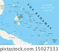 The Bahamas Political Map 15027333
