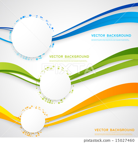 Stock Illustration: Vector abstract background design.
