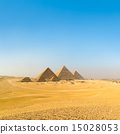 Great pyramids in Giza valley, Cairo, Egypt 15028053