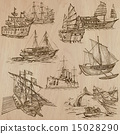 Boats - An hand drawn vector pack 15028290
