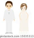 婚礼结婚婚礼夫妇 15035313