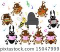 concert, chorus, vector 15047999