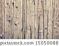 Texture of old wooden lining boards wall 15050088